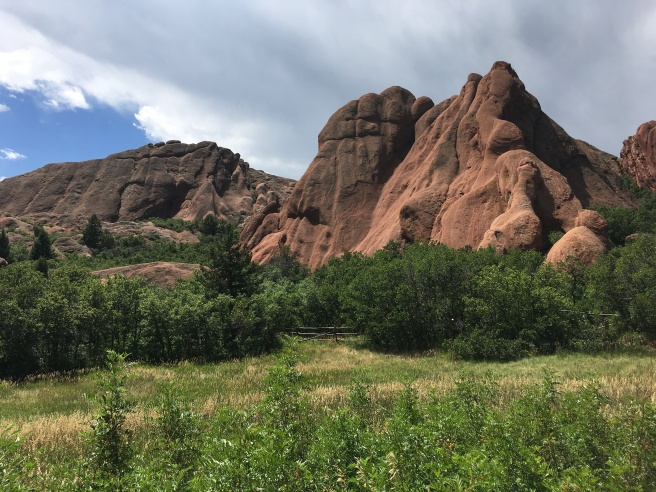 Red rocks at Roxborough State Park