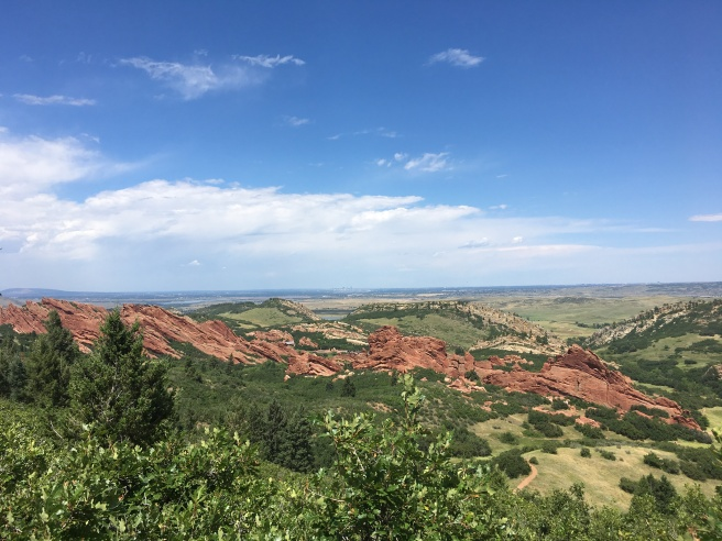 View of Roxborough State Park from Carpenter Peak trail